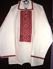 чоловіча сорочка від компанії Вишиванка