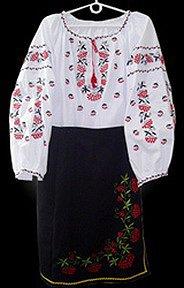 Национальные украинские костюмы